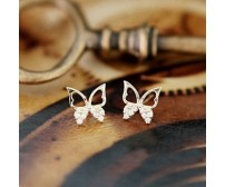 Female Butterfly Earrings