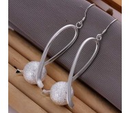 Silver Plated Ball Earrings